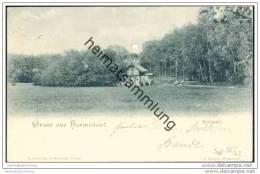 Gruss Aus Hermsdorf - Kuhstall - Stempel EK Hermsdorf (Mark) - Waidmannslust