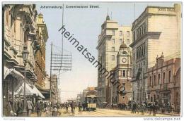 Johannesburg - Commissioner Street - Strassenbahn - Südafrika