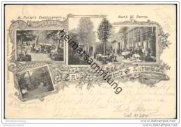 Berlin - Gruss Aus Lankwitz Gross Lichterfelde - Victoria-Garten - H. Pichler 's Etablissement - Lankwitz