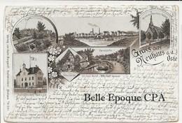 Niedersachsen - GRUSS Aus NEUHAUS A. D. OSTE ++++ To Hoboken, NJ, USA, 1900 +++ - Allemagne