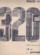 (pagine-pages)PUBBLICITA' PIRELLI  Oggi1956/15. - Books, Magazines, Comics