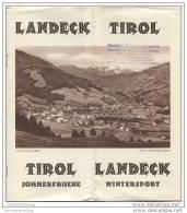 Landeck - 8 Seiten Mit 16 Abbildungen - Oesterreich