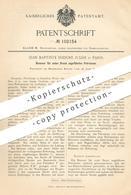 Original Patent - Jean Baptiste Isidore Julhe , Paris , 1897 , Petroleum - Brenner | Gasbrenner , Lampe , Gas , Licht ! - Historische Dokumente