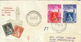 1951 -  FRANCOBOLLO DI TOSCANA - FDC VENETIA - 6. 1946-.. Repubblica