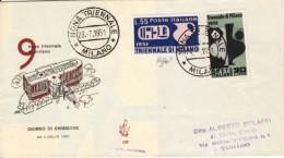 1951 -  TRIENNALE MILANO - FDC VENETIA - FDC