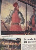 (pagine-pages)IL PALAZZO DA COMO A LONATO  L'europeo1956/573. - Books, Magazines, Comics