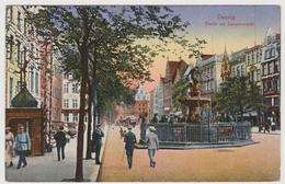 Partie Am Langenmarkt, Danzig Danzica, Polonia - F.p. - 1910 - Polonia