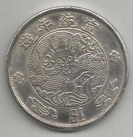 Cina, Impero, 1 Dollaro, Weight 20,50 Gr., Diametro 40 Mm. - Cina