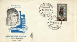 1953 - SIGNORELLI - FDC VENETIA - 6. 1946-.. Repubblica