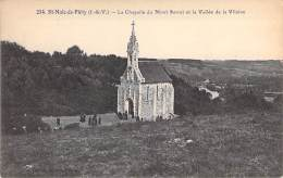 35 - ST MALO DE PHILY La Chapelle Du Mont Serrat Et Vallée De La Vilaine - CPA - Ille Vilaine ( Religion Christianisme ) - Saint Malo