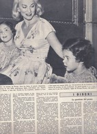 (pagine-pages)ROMINA POWER E LINDA CHRISTIAN  L'europeo1956/573. - Books, Magazines, Comics