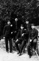 """UN SERVICE RECRUTEMENT""   CARTE PHOTO  1915 - Guerre, Militaire"