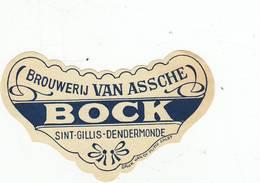 """Bierbrouwerij """" Van Assche """"BOCK  - St.Gillis-Dendermonde  """" - Beer"""