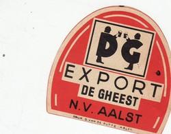 """Bierbrouwerij """" De Gheest """" EXPORT """" N.V.Aalst - - Beer"""