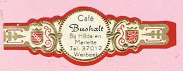 Sigarenband - Café Bushalt - Bij Hilda En Mariette - Werbeek - Bagues De Cigares