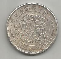 Giappone, 1875, 420 Grains Trade Dollar 900 Fine. Weigh 19,90 Gr., Diametro 38 Mm. - Japan