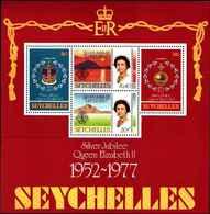 71677) SEYCHELLES  1977 SILVER JUBILEE -MNH** BF.8 - Seychelles (1976-...)