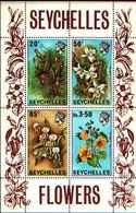 71678) SEYCHELLES  FIORI - FLOWERS  1970 Block -MNH** BF.1 - Seychelles (1976-...)