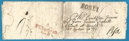(D043) LAC De FORLI  Vers Pise Du 4/2/1829 - - ...-1850 Préphilatélie