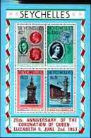 71679) SEYCHELLES  1978 Silver Jubilee MNH** BF.10 - Seychelles (1976-...)