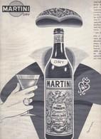 (pagine-pages)PUBBLICITA' MARTINI  Oggi1956/38. - Books, Magazines, Comics