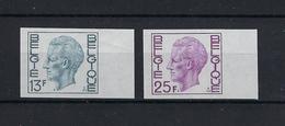 N°1747ND/1748ND (genummerd 649) MNH ** POSTFRIS ZONDER SCHARNIER COB € 55,00 SUPERBE - Imperforates