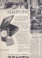 (pagine-pages)PUBBLICITA' ZENITH  L'europeo1956/554. - Books, Magazines, Comics