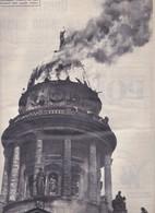 (pagine-pages)BERLINO MARE MORTO  L'europeo1956/554. - Books, Magazines, Comics
