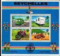 71684) SEYCHELLES  1982- 5 Ann Liberation Bus Tractor**-MNH** BF.20 - Seychelles (1976-...)
