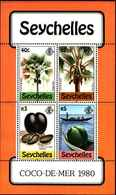 71685) SEYCHELLES  1980 ALBERI DI NOCI DI COCCO -MNH** BF.15 - Seychelles (1976-...)