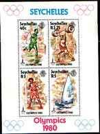 71686) SEYCHELLES  1980  Olympics Moscow Boxig SPORT -MNH** BF.14 - Seychelles (1976-...)