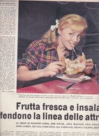 (pagine-pages)VIRNA LISI  L'europeo1956/553. - Books, Magazines, Comics