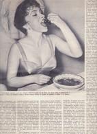 (pagine-pages)GINA LOLLOBRIGIDA  L'europeo1956/553. - Books, Magazines, Comics