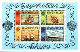 71687) SEYCHELLES  1981 Navi.  -MNH** BF.16 - Seychelles (1976-...)