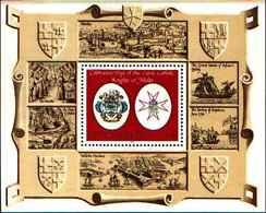 71690) SEYCHELLES Japan, 1986 GIORNATA COMMEMORATIVA DEI CAVALIERI DELL'ORINE DI MALTA  -MNH** BF.28 - Seychelles (1976-...)