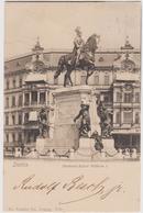 Stettin Szczecin, Denkmal Kaiser Wilhelm I, Polonia - F.p. - 1900 - Poland
