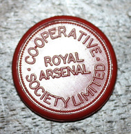 """Jeton De Nécessité Britannique D'une Livre Sterling """"£1 / Royal Arsenal Co-operative Society Limited"""" London Token - Monetary/Of Necessity"""
