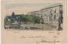 Boulevards Odessa, Ukraine - F.p.- Fine '1800 - Ucraina