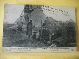 L10 9427 CPA 1915 - 1914-15... EN BELGIQUE. TRANCHEES BELGES DANS RAMSCAPEL. - ANIMATION - Weltkrieg 1914-18