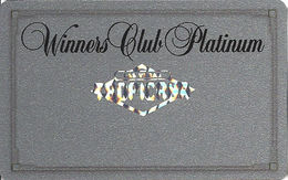 Tropicana Casino Las Vegas, NV - BLANK Slot Card With Hologram Logo & Silver Reverse - Casino Cards