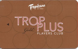 Tropicana Casino Las Vegas, NV - BLANK Slot Card - Casino Cards