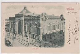 Die Borse, Odessa, Ukraine - F.p.- Fine '1800 - Ucraina