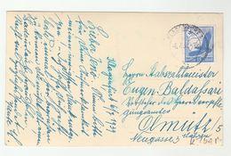 1939 Klagenfurt GERMANY COVER 15pf Airmail Stamp (postcard) - Germany