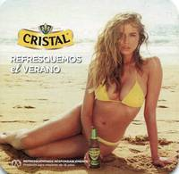 Lote CH11, Chile, Posavaso, Coaster, Cristal, Modelo, Botella - Beer Mats