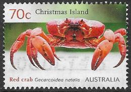 Christmas Island 2014 Red Crab 70c Good/fine Used [38/31206/ND] - Christmas Island
