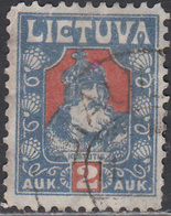 LITHUANIA    SCOTT NO. 106   USED    YEAR  1921 - Lituanie