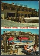 Apollo Hotel  -  Paphos / Cyprus  -  Mehrbild-Ansichtskarte Ca. 1986    (8866) - Cyprus