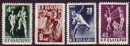 Sport - Bulgaria / Bulgarie  1950 -  Set (Mi No 749-2) MNH** - Neufs