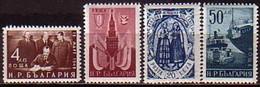 Stalin - Bulgaria / Bulgarie  1950 -  Set (Mi No 755-8) MNH** - Autres