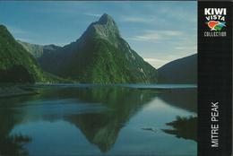 Modern Picture Postcard - New Zealand - Mitre Peak, Milford Sound - Unused - MPC 615 - Postcards